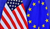US and EU flag